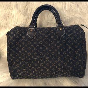 💯% Authentic Louis Vuitton Mini Lin Speedy 30 MM